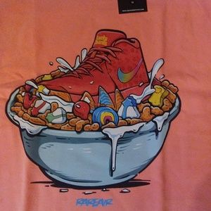 678054989e76 Sneaker Match Tees Shirts | Mens Kyrie Irving Lucky Charms Shirt ...